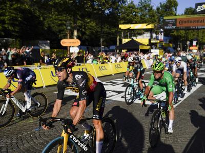Wout Van Aert ovládol 21. etapu Tour de France