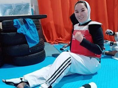 Afganská športovkyňa Zakia Chudadadíová