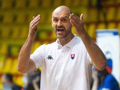 Tréner slovenskej basketbalovej reprezentácie