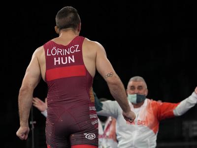 Maďarský zápasník Tamás Lőrincz vybojoval na OH 2020 v Tokiu zlatú medailu v grécko-rímskom štýle do 77 kg