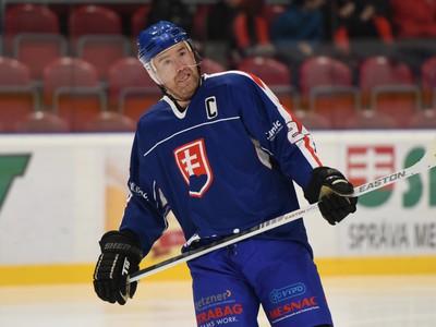 Na snímke kapitán Slovenska