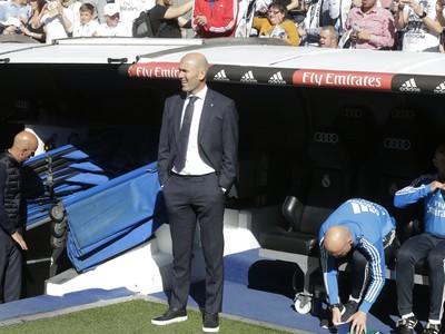 Zinedine Zidane opäť na