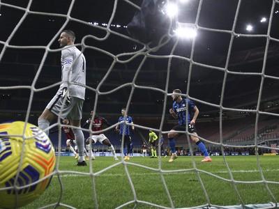 Zlatan Ibrahimovič strelil vedúci gól milánskeho AC