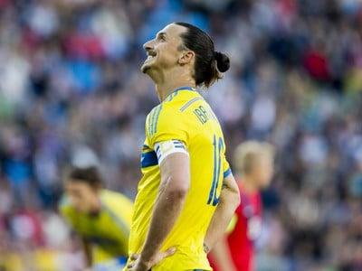 Kapitán švédskej reprezentácie Zlatan