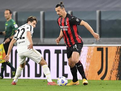 Zlatan Ibrahimovič a Federico Chiesa