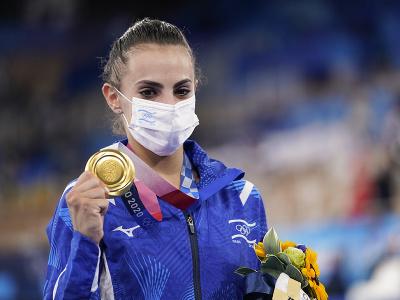 Izraelská gymnastka Linoj Ašramová