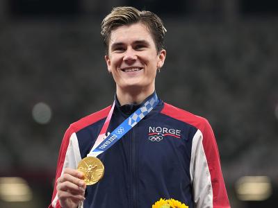Nórsky atlét Jakob Ingebrigtsen