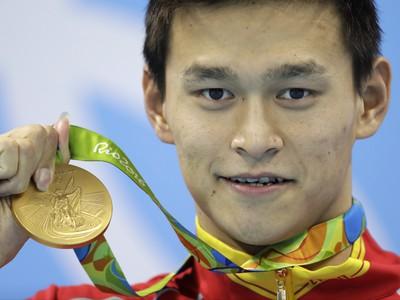 Sun Jang s olympijským
