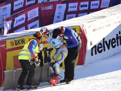 Lucas Braathen sa po páde v cieli tak skoro na lyže nepostaví