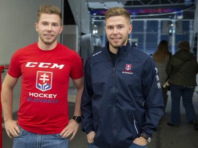 Dvojičky Jakub (vľavo) a