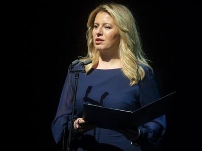 Na snímke prezidentka SR Zuzana Čaputová