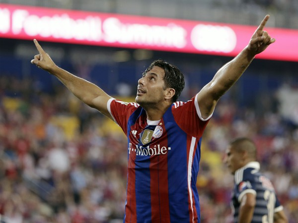 Claudio Pizarro a jeho gólové oslavy