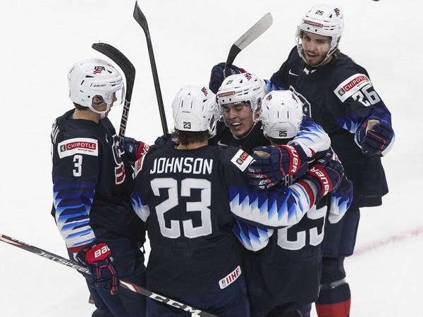 USA oslavujú gól