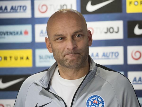 Tréner slovenskej futbalovej reprezentácie do 21 rokov Adrián Guľa