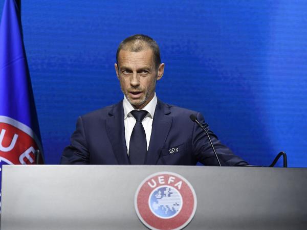 Prezident UEFA Alexander Čeferin