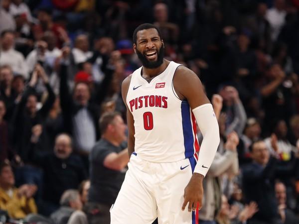 Andre Drummond z Detroitu Pistons