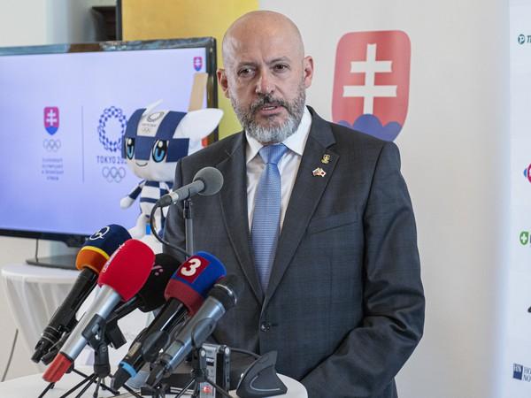 Prezident Slovenského olympijského a športového výboru (SOŠV) Anton Siekel