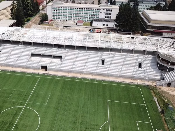 Výstavba štadióna AS Trenčín