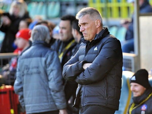 Tréner AS Trenčín Norbert Hrnčár