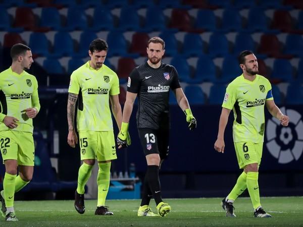 Hráči Atlética Madrid