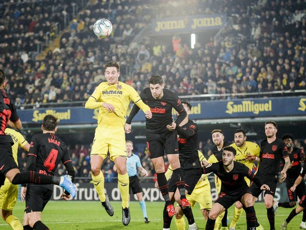 Momentka zo zápasu Villareal - Atlético