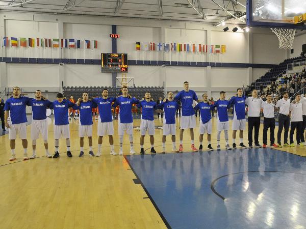 Slovenskí basketbalisti pred súbojom s Macedónskom