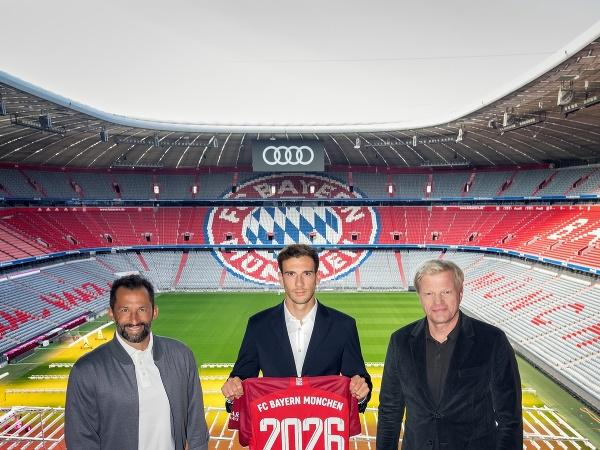 Leon Goretzka podpísal v Bayerne Mníchov predĺženie kontraktu do roku 2026