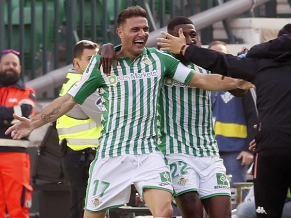 Joaquín Sánchez a jeho gólové oslavy