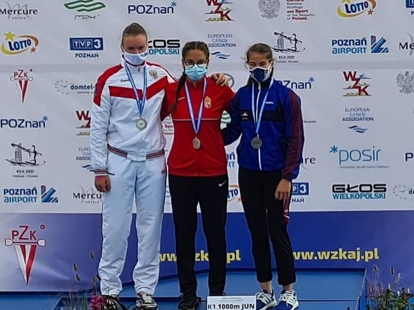 Bianka Sidová s bronzovou medailou