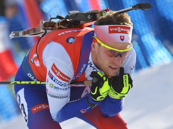 Slovenský biatlonista Martin Otčenáš