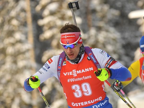 Slovenský biatlonista Tomáš Hasilla