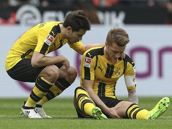 Zranený Marco Reus
