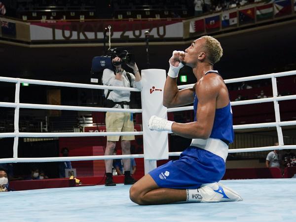 Benjamin Whittaker v Tokiu zabojuje o olympijské zlato