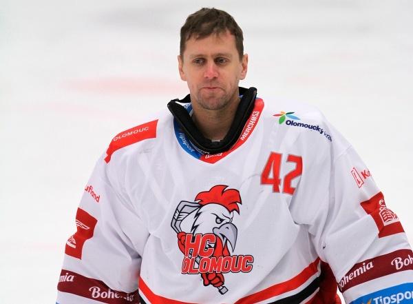 Slovenský hokejový brankár Branislav Konrád