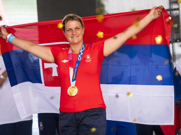 Olympijská víťazka v streľbe na XXXII. letných OH 2020 v Tokiu Zuzana Rehák Štefečeková