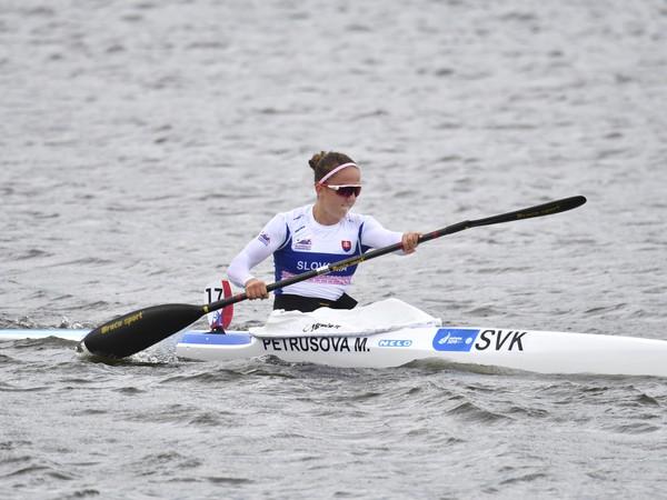Slovenská reprezentantka v rýchlostnej kanoistike Mariana Petrušová