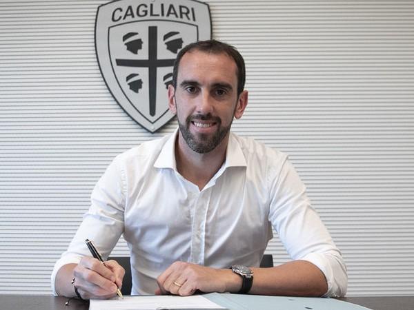 Diego Godín zamieril do Cagliari Calcio