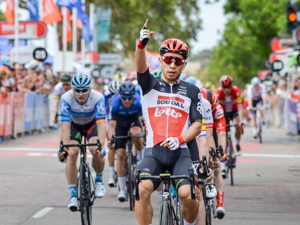 Caleb Ewan sa teší z triumfu v 4. etape na Tour Down Under