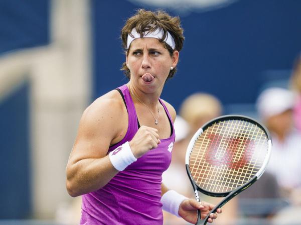 Španielska tenistka Carla Suarezová Navarrová