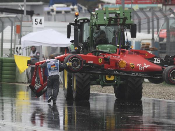 Charles Leclerc preteky nedokončil