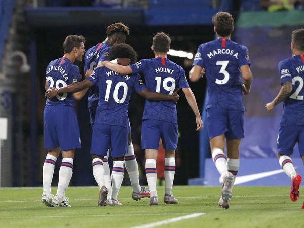 Radosť hráčov Chelsea
