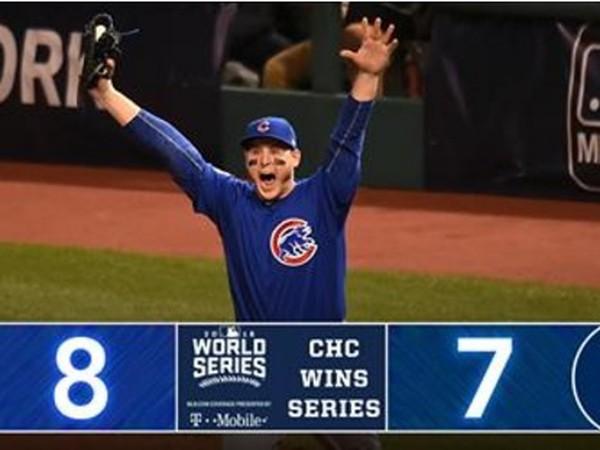 Chicago Cubs sa po dlhých 108 rokoch stali šampiónmi