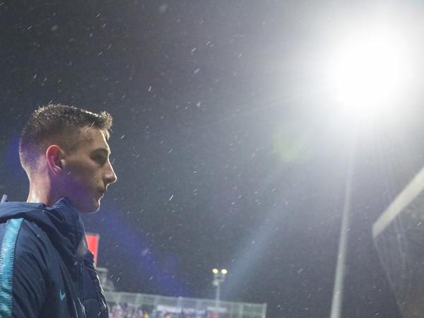 Slovenský futbalový reprezentant Róbert Boženík