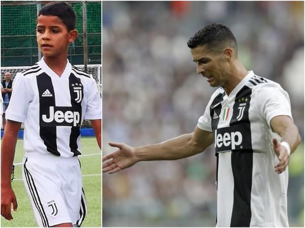 Cristiano Ronaldo Junior strelil za Juventus už štyri gól