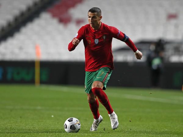 Cristiano Ronaldo v portugalskom drese