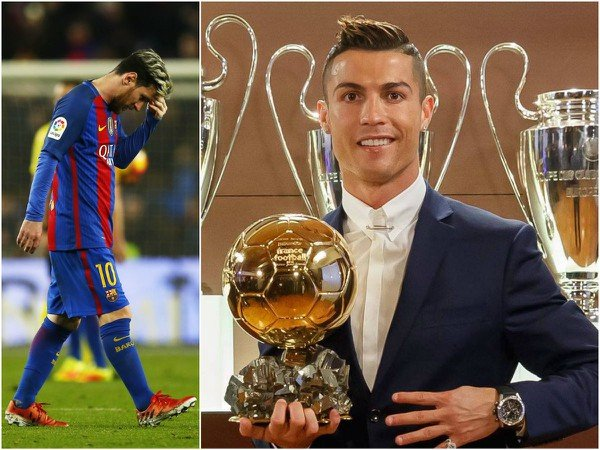 Lionel Messi a Cristiano Ronaldo