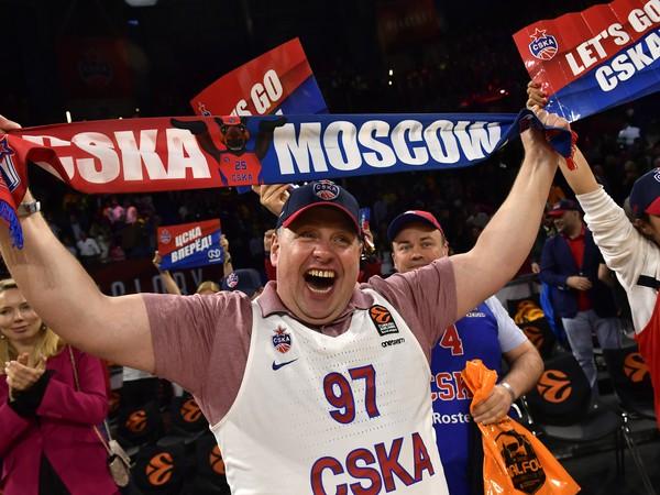 Fanúšikovia CSKA Moskva