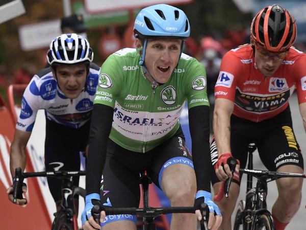 Írsky cyklista Dan Martin z tímu Israel Start-Up Nation víťazí v 3. etape 75. ročníka pretekov Vuelta