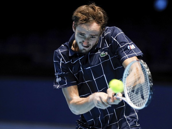 Na snímke ruský tenista Daniil Medvedev
