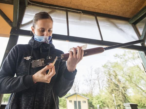 Slovenská reprezentantka v športovej streľbe Danka Barteková